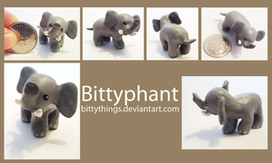 Bittyphant - SOLD by Bittythings