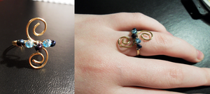 Wire Ring by Zinantis