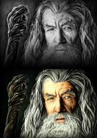 ~Gandalf : Before and After~ by GhaythFuad