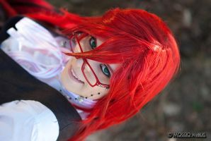 Grell Sutcliff Cosplay by ManuelM81