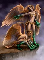 Harpies by Sophia-M