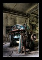 old blue machine by matze-end