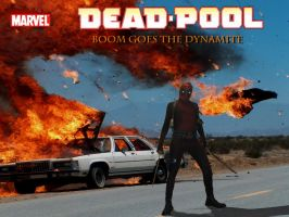 Deadpool: Boom goes Dynamite by Hellzguardean