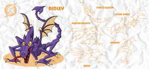 SMASH: Ridley by professorfandango