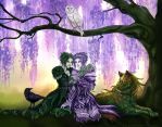 Under the Wysteria by Evanyell