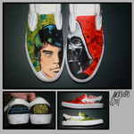 Star Wars Custom Shoes by Harpo-exe