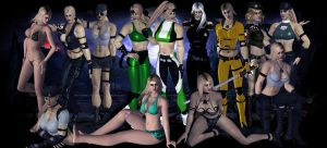 Mortal Kombat -  I need more Sonyas! by DeathsFugitive