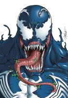 Venom Marvel Vs Capcom Version by Ronniesolano