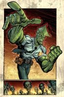 savage dragon by ScottJames