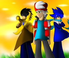 Team Chaos Human Form by SonicXstar