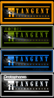 neon sign Tangent Technologies by posei