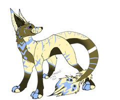 Wolf Adopt by intoxicated-with-paw