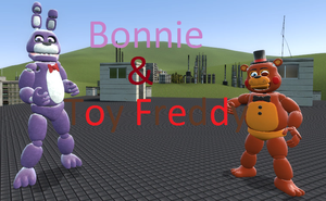 Bonnie and Toy Freddy by cjc728