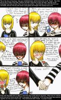 Mello n Matt-first meeting by moonraven373
