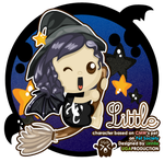 Little witch by supperfrogg