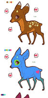 Deer Pointables by freaking-adopts