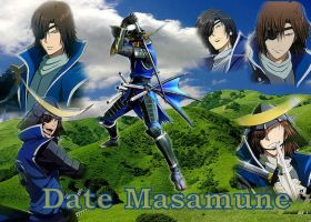 Date Masamune wallpaper by grimmiko88