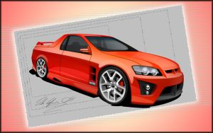 HSV Maloo by dazza-mate