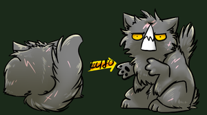 YELLOWFAng -Squiby- by Spottedfire-cat