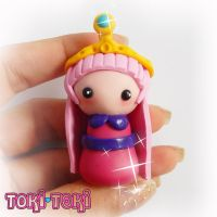 Princess Bubblegum Adventure Time Chibi by MadeByTokiToki