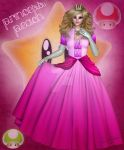 Princess Peach by DigiCuriosityDesigns