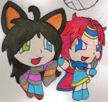 Traditional Roy and Mitsuki by PKFoxas