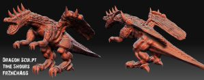 Dragon Speed Sculpt by FrZnChAoS