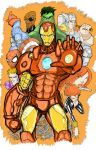 Ironman Avengers Color by buttmuffinzombie