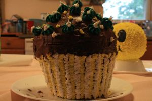 cupcake cake by pastrychef5691