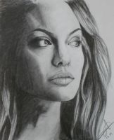 Angelina very jolie by catbellamy