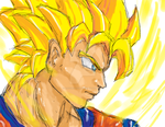 Super Saiyan by RAOcreations