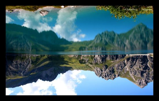 Reflection Reversed by Lilywen