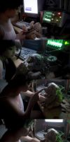 Lain Creating Life by spooky-epiic