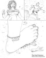 The Deaf Giantess 14 by DragonessLife