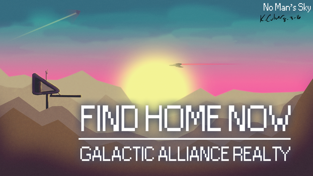 Find Home Now - NMS fan art by kyle-culver