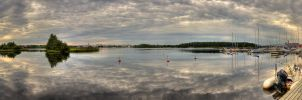 Oulu panorama by Orzel