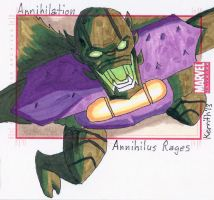 A - Annihilus Rages by KerrithJohnson