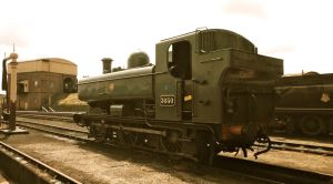 Great Western Railway Pannier Tank by SteamRailwayCompany