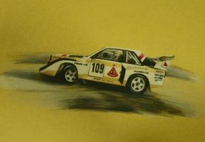 Audi Quattro S1 Group B by CaptainJoellie