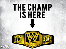 WWE 2013 John Cena The Champ Is Here Wallpaper by HTN4ever