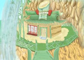 Mr.bamboo's house by hyakamaru