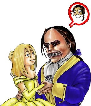 Historia and Ymir... Beauty and the Beast? by AalienoOr