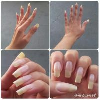 Natural nails by amanda04