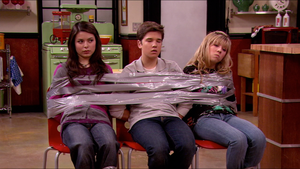 Miranda and Jennette Taped to Chair(s) by Celebstiedandgagged6