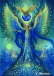 Archangel Michael.Tree of Life by mikioku