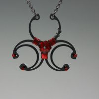 Biohazard Red v4- SOLD by YouniquelyChic