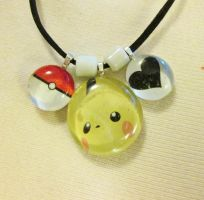 Pikachu Necklace by Torrrent