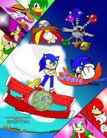 Sonic Championship: The Comic Cover by Xero-J