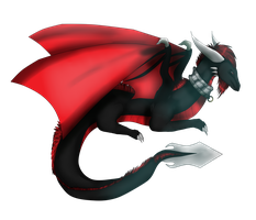 Art Trade - Cynder by secretsnowdragon9999
