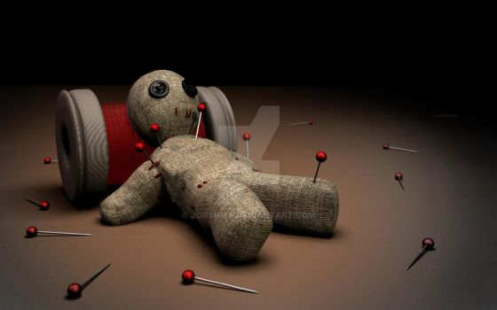 Poor voodoodoll by Jorshma